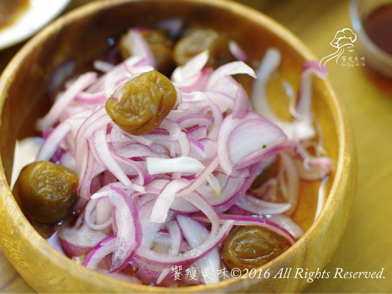 饗瘦美味-紫蘇梅伴紫洋蔥絲