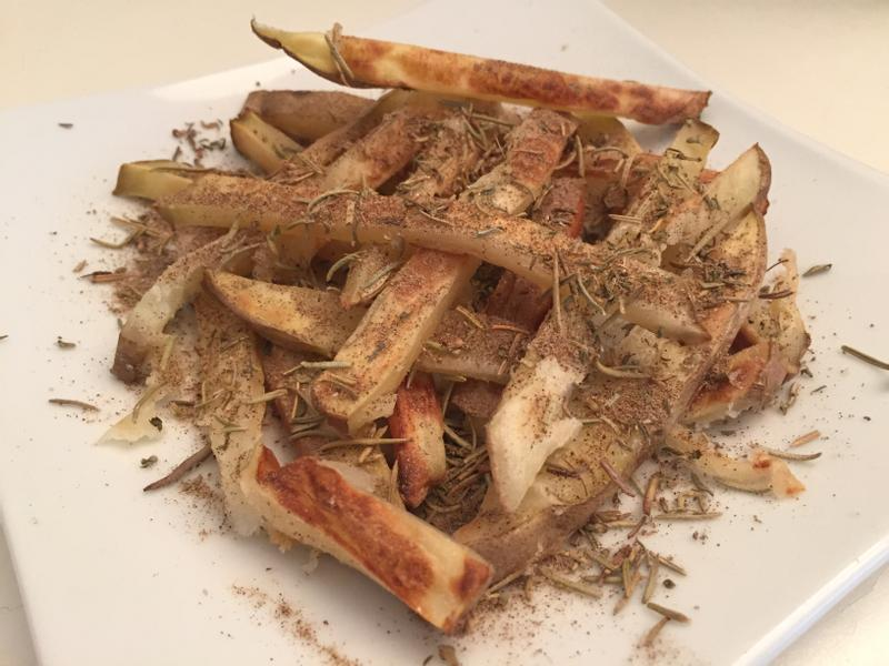 香料烤薯條(蔬食)