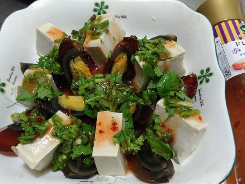 泰式皮蛋豆腐 健康廚房