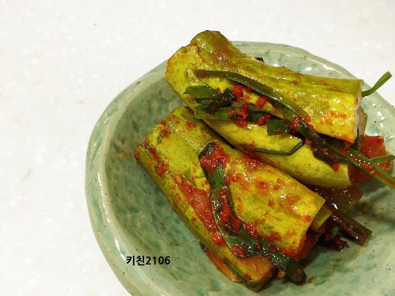 韓式小黃瓜泡菜--오이소박이