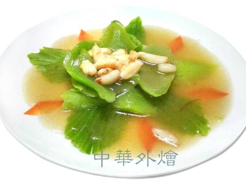 蟹肉燴芥菜【中餐乙級食譜】