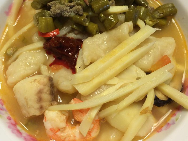 Q彈麵疙瘩蕃茄海鮮湯
