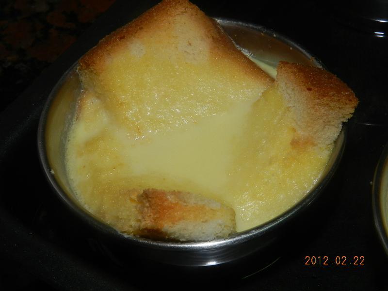 ㄚ曼達的廚房~麵包布丁