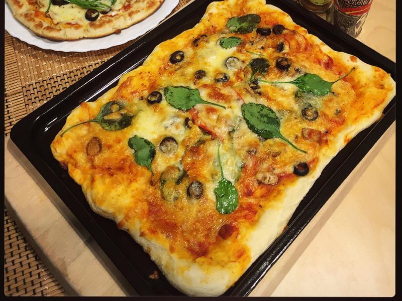 🌱零失敗手作蔬食披薩🍳(麵包機)