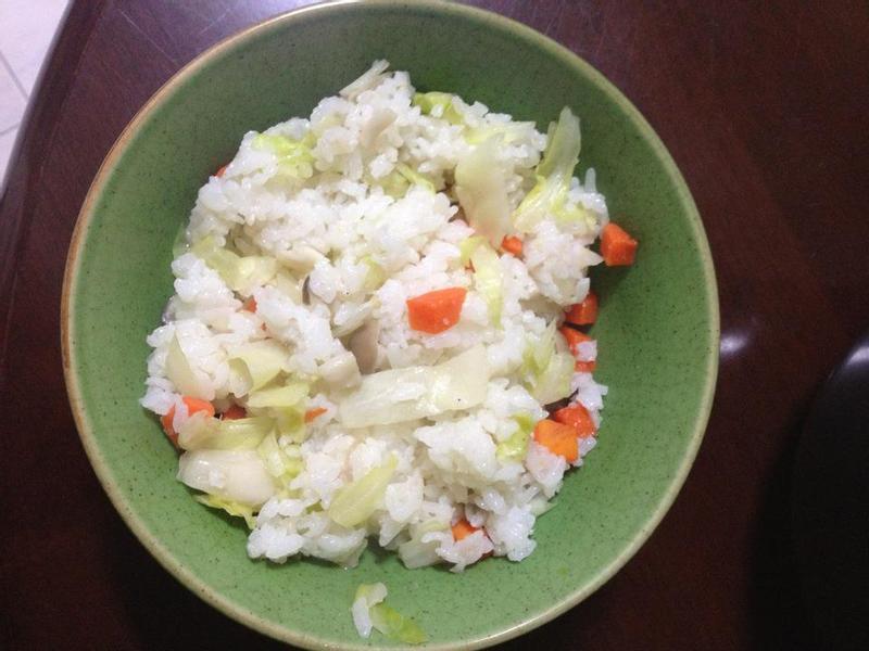 水媽咪料理 - 高麗菜飯