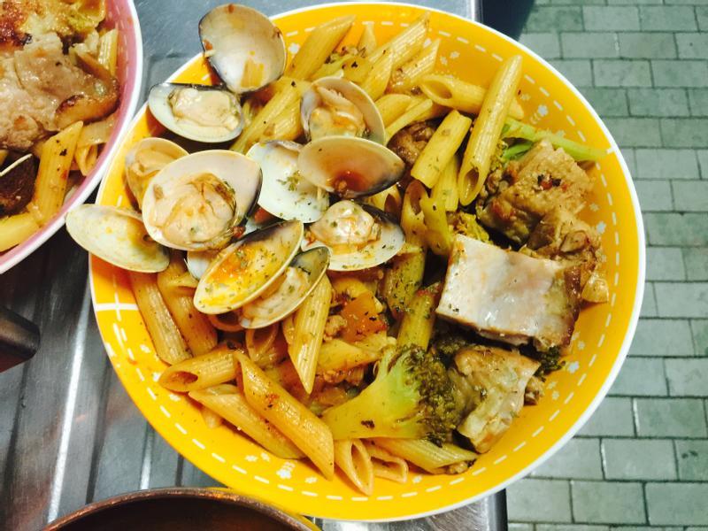 香辣海陸菇菇斜管麵「完美絕配義式饗宴」