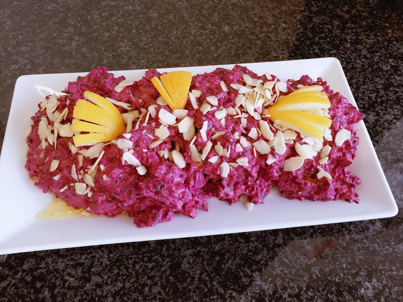 🇱🇧黎巴嫩-甜菜根優格沙拉(素)