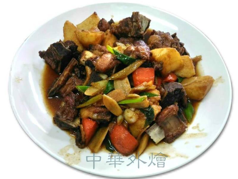 馬鈴薯燒排骨【中餐丙級料理】