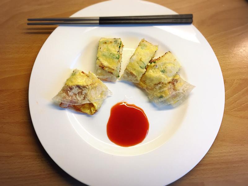 越南-米紙蛋餅
