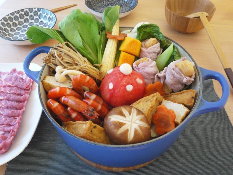 元氣高纖鮮蝦鍋【全聯火鍋祭】