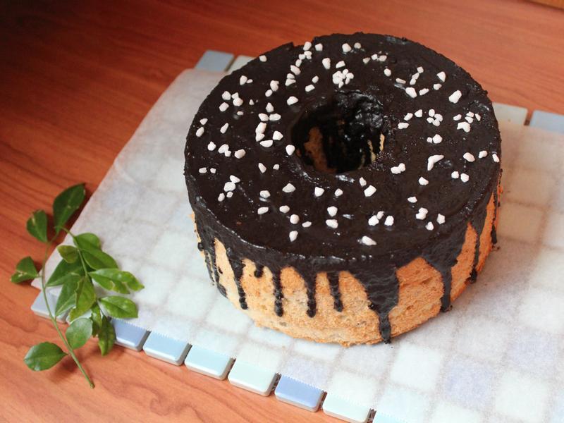 巧克力香蕉戚風蛋糕