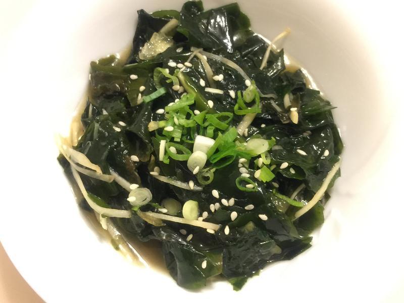 涼拌海帶芽 菜貴的替代鹼性健康食物