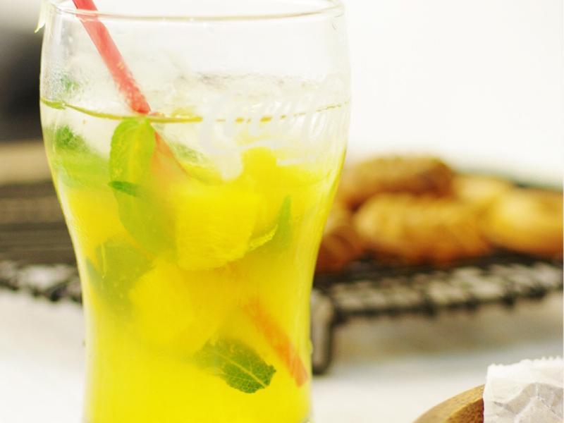 饗瘦美味-柳橙鼠尾草蜜茶