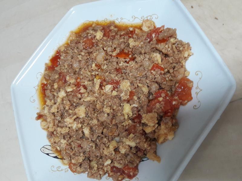 肉末番茄蛋