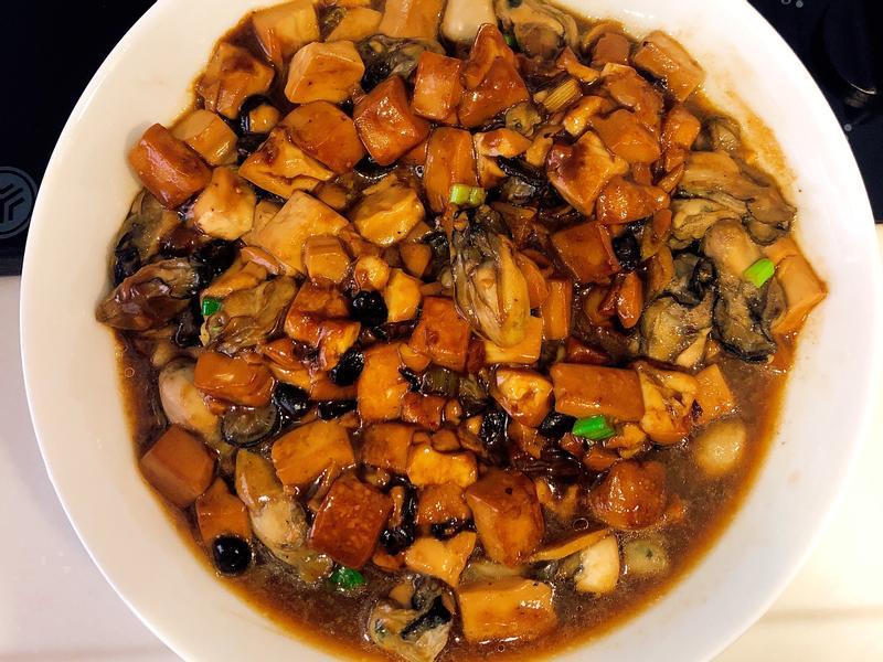 牡蠣豆腐煲 鮮坷豆腐