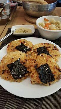 米餅(剩菜飯處理,一個步驟超簡單!)