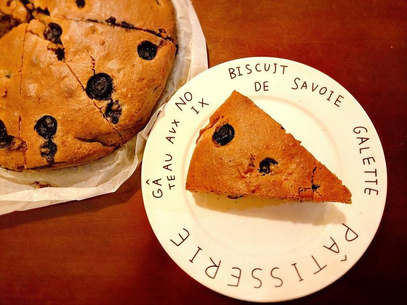 雜莓醬合桃蛋糕(輕怡版)