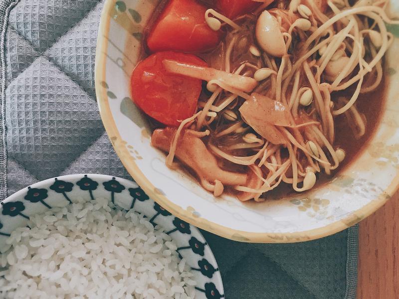 咖哩燉蔬菜