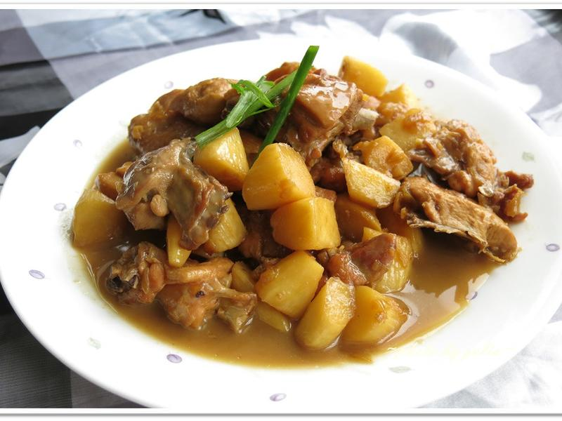 [筊白筍燒雞]下飯的家常菜