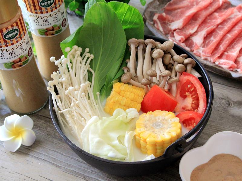 奶香豬肉風味鍋【健康廚房】