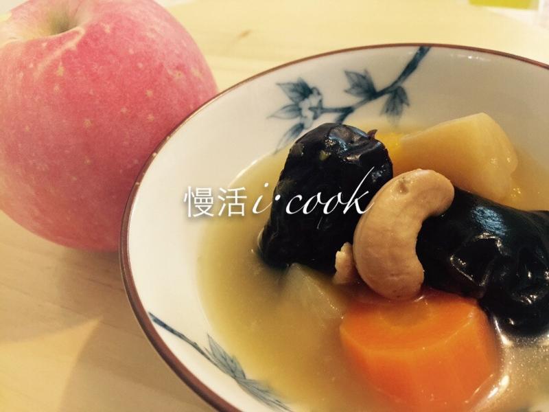 節氣料理-霜降NO.2❤南瓜蘋果瘦肉湯❤