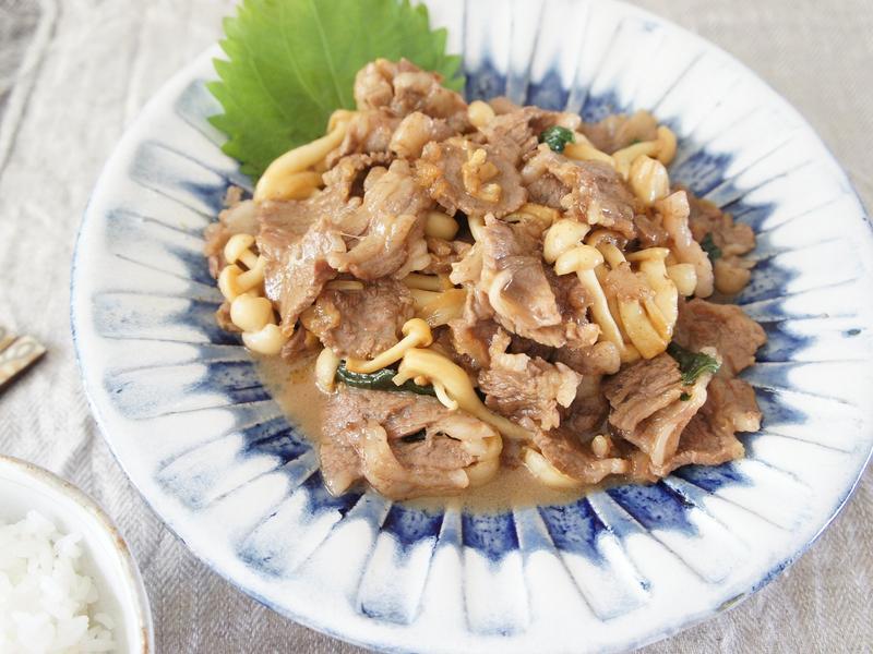 奶油紫蘇鮮菇牛肉