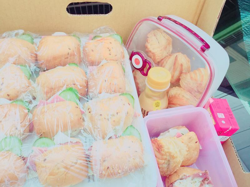 洋芋馬鈴薯胖、火腿起司胖(早餐、西點)