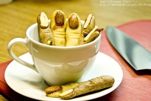 萬聖節-巫婆手指餅乾