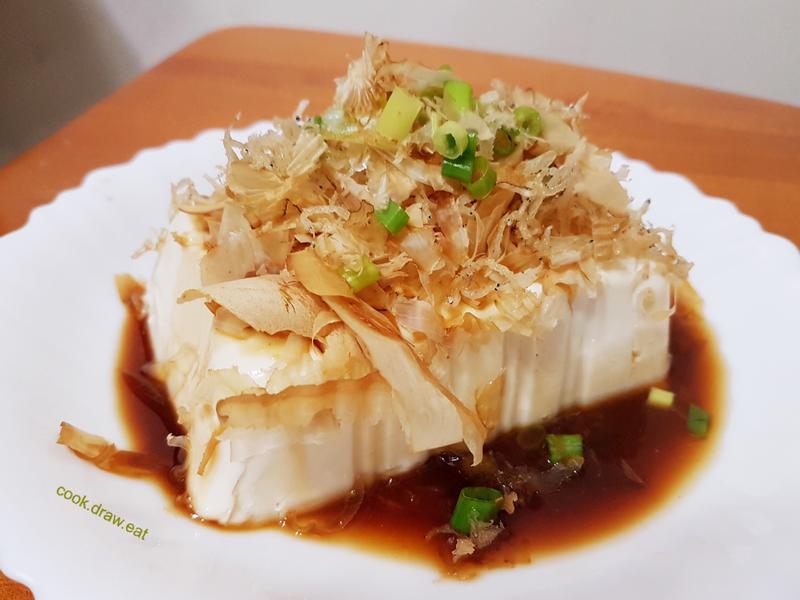 涼拌小魚豆腐
