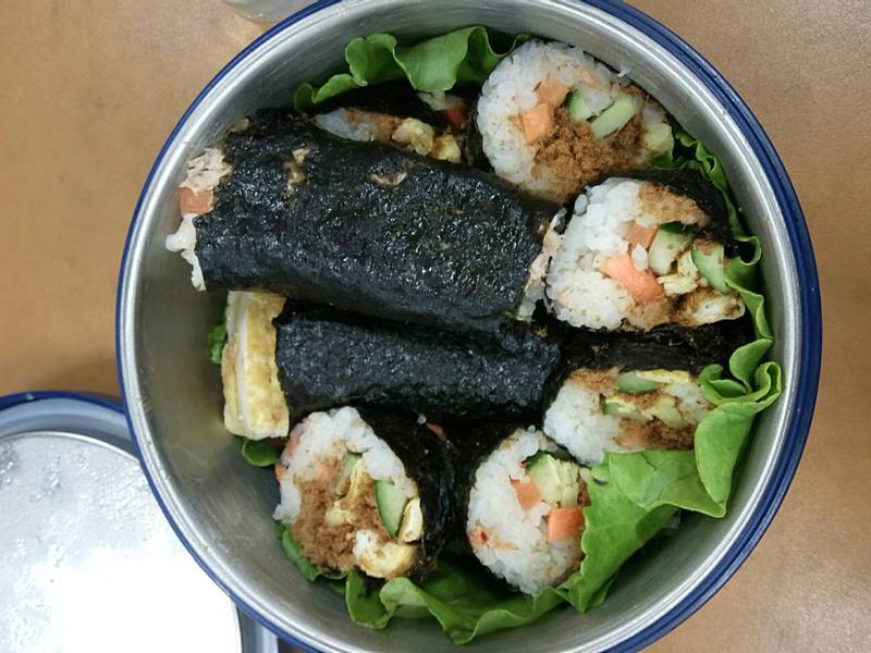 櫻花蝦壽司(乳酪、魚鬆、鮪魚沙拉)