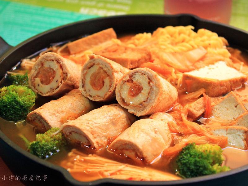 泡菜竹輪豬肉捲