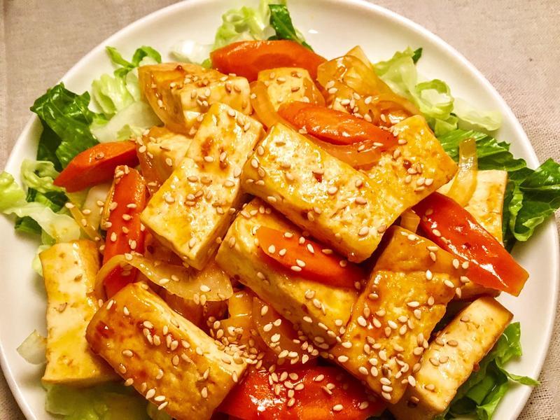 家常菜~ 糖醋豆腐