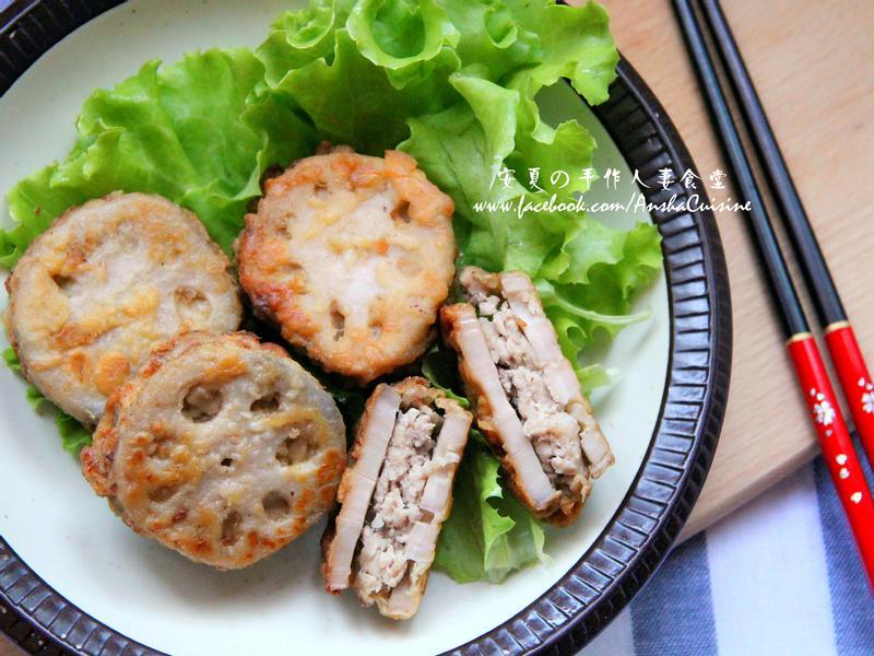 日式蓮藕炸肉餅