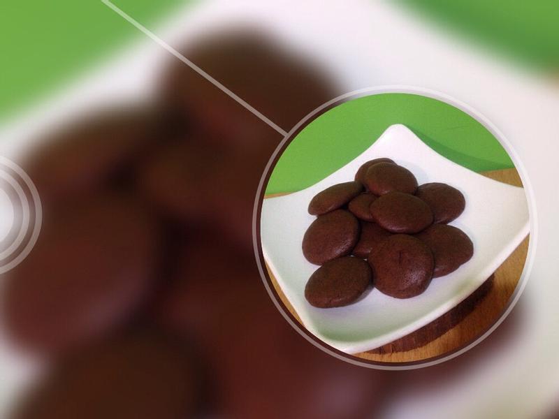 超簡單~巧克力餅乾