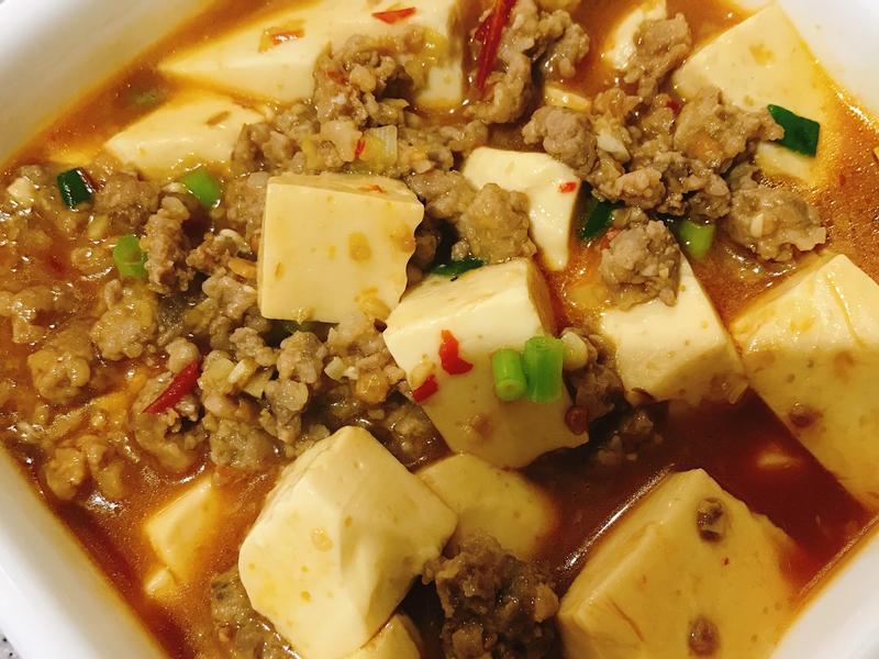 麻婆豆腐🌶️