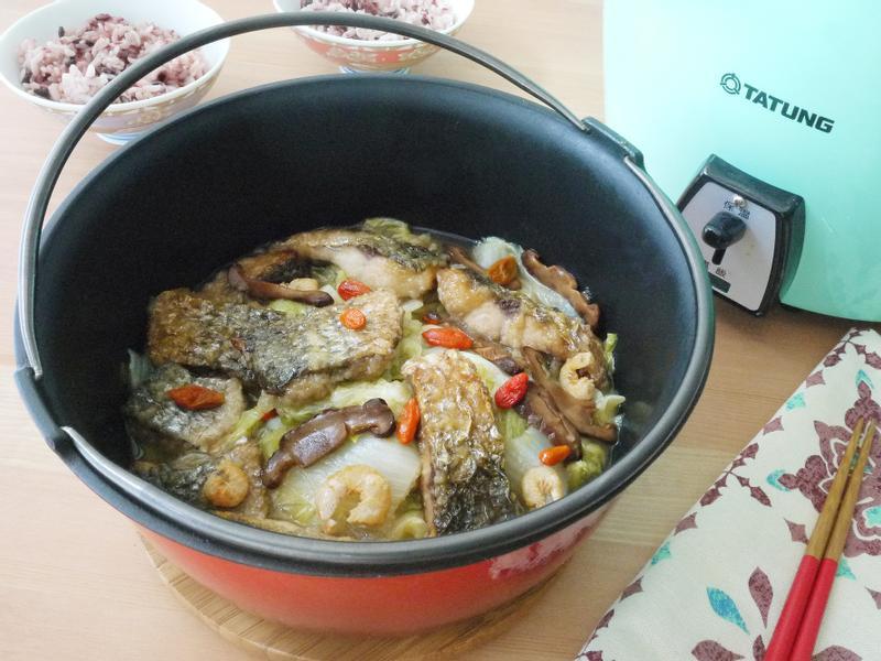 烏魚枸杞滷白菜【大同高質內鍋】
