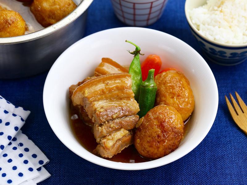 炸蛋紅燒滷肉【大同高質內鍋】