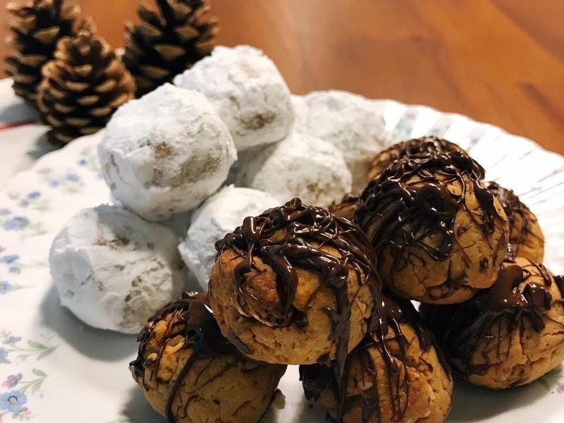 花生巧克力雪球 Snowball