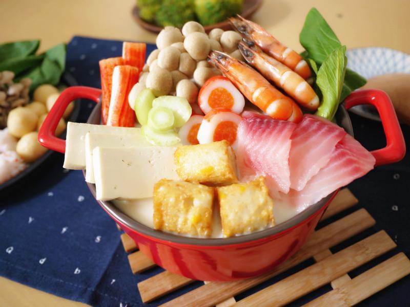 海鮮豆乳鍋【大同複合料理無水鍋】