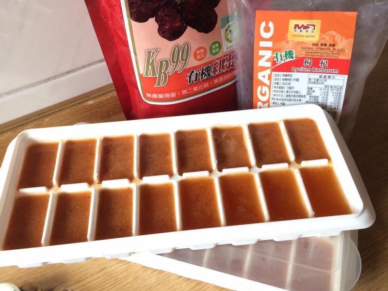 素食㊣紅棗枸杞冰磚