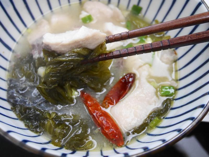 沒有泡椒也能做的酸菜魚