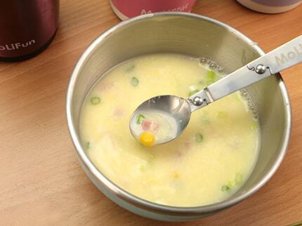 燜燒罐食譜-玉米蛋花湯