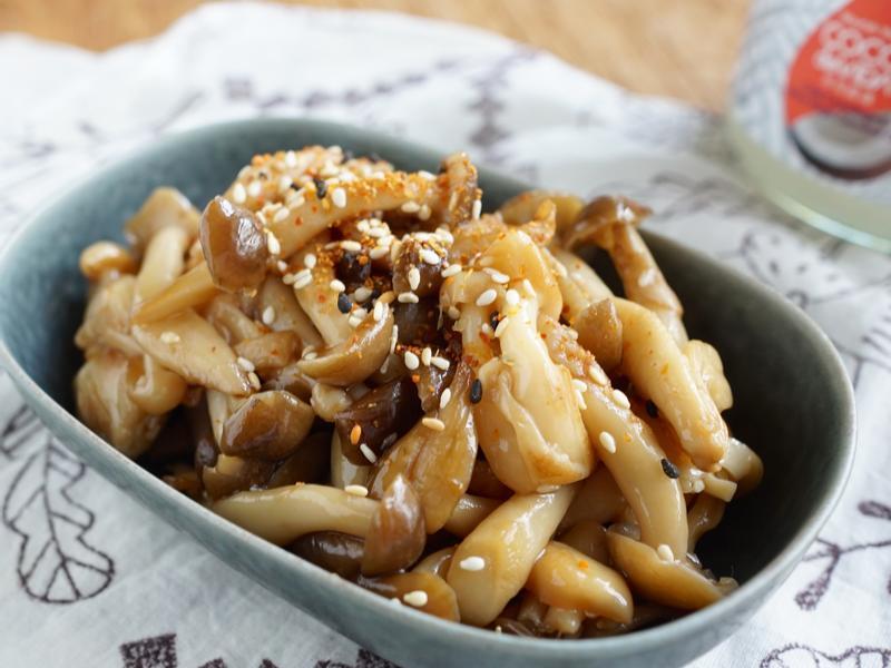 金平風味椰子油炒鮮菇~省時美味料理
