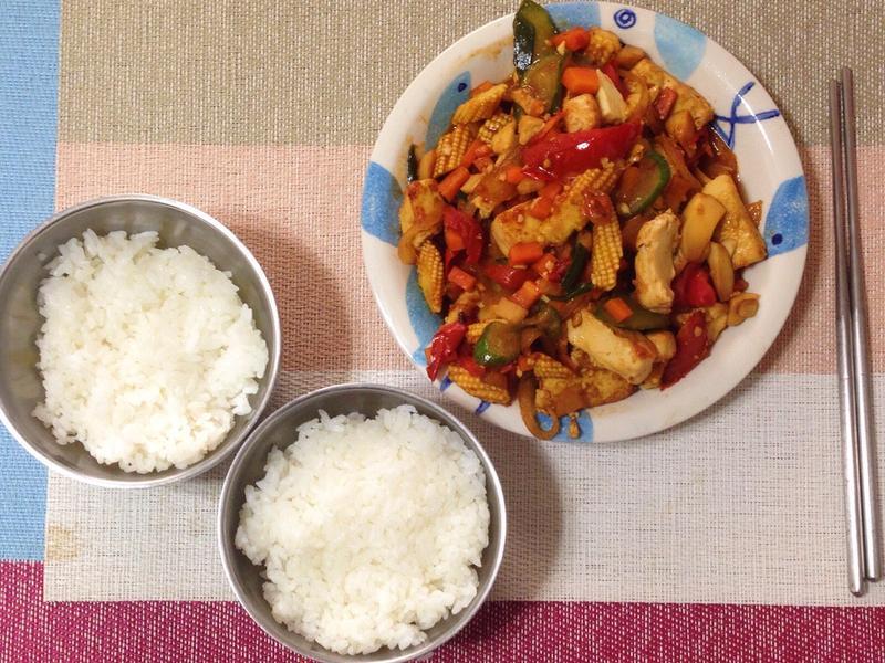 🍴『總匯鐵板豆腐』—兩人份