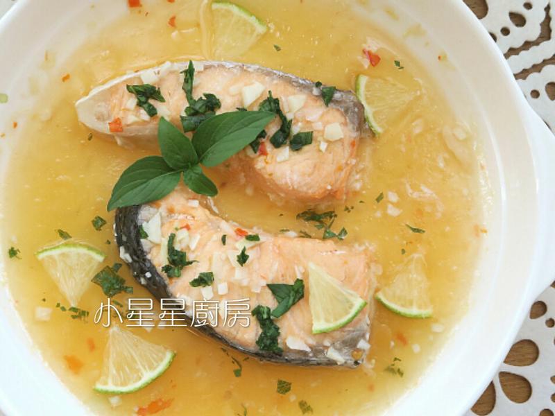 泰風檸檬鮭魚