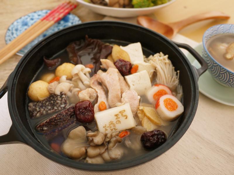 麻油松坂菇菇鍋【大同複合料理無水鍋】