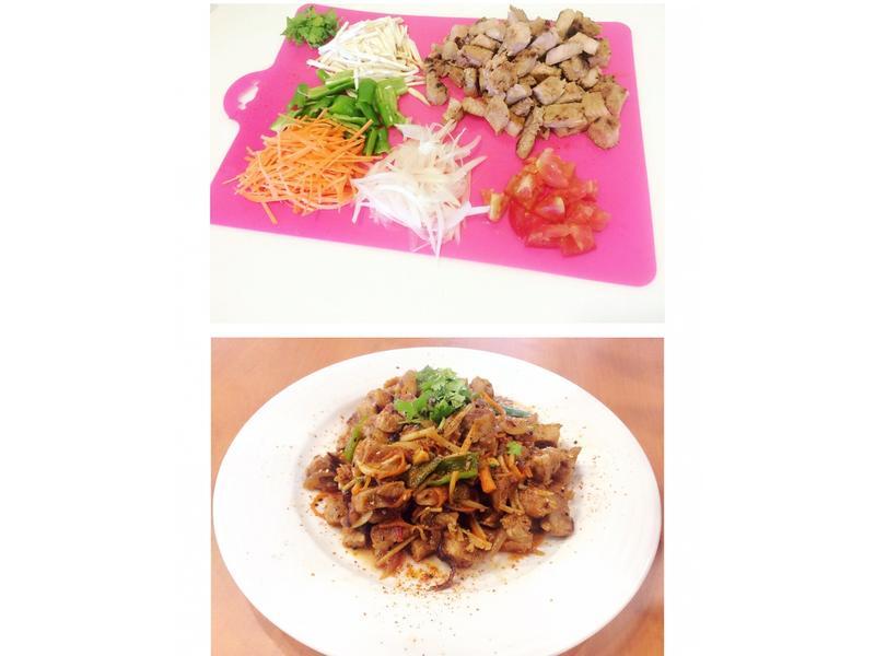 葛瑪蘭黑豚排快炒套餐(黑豚里肌肉)