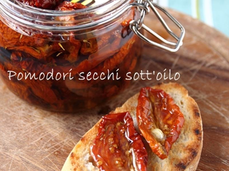 自製義大利油漬番茄乾