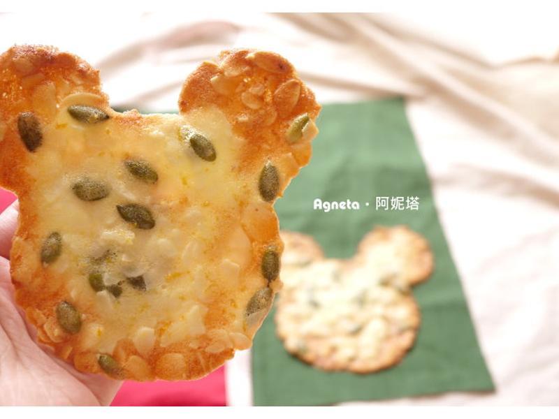 [阿妮塔♥sweet] 簡單變可愛‧米老鼠造型杏仁瓦片。