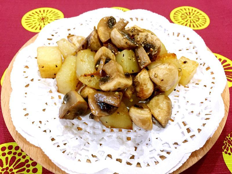奶油野菇洋芋(馬鈴薯)